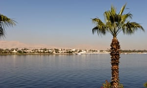 Luxor seen from across the Nile