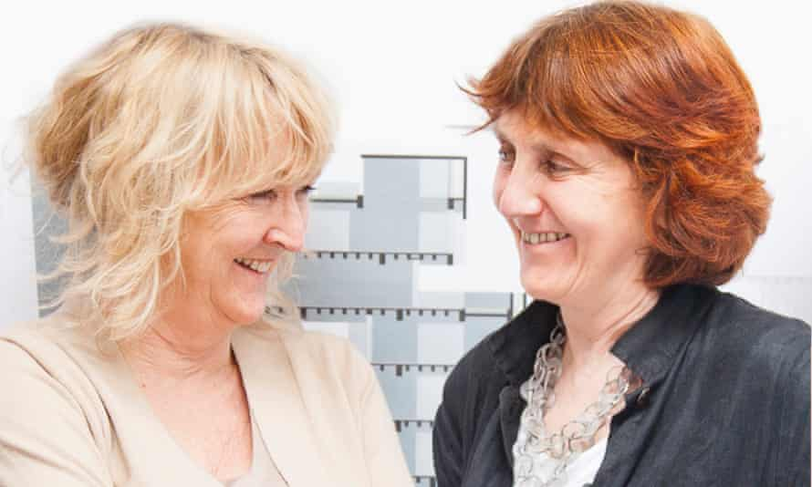 Building a reputation … Yvonne Farrell, left, and Shelley McNamara, of Grafton architects.