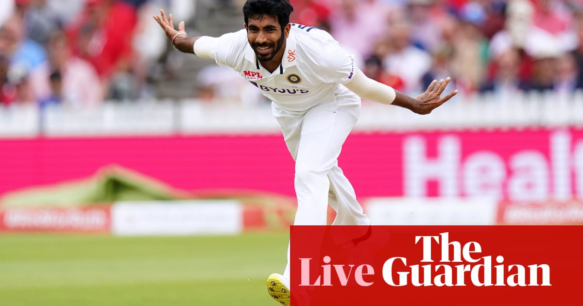 England v India: second Test, day three – live!