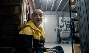 James McAvoy as Kevin in Split.