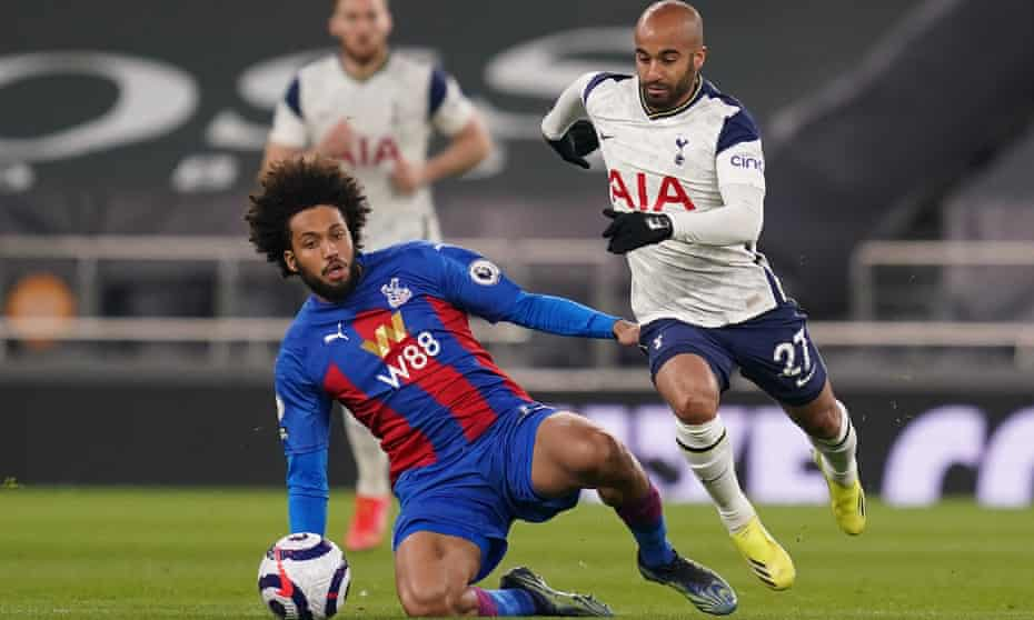 Lucas Moura had extra vigour against Crystal Palace.