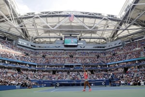 It's a packed house at Flushing Meadows.