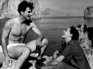 Inge and Ernst Haas during their first reportage for Magnum Photos, Capri, Italy, 1949