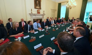 Boris Johnson's cabinet meeting