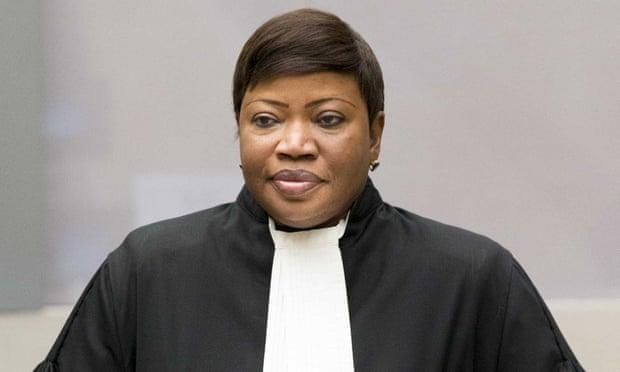 Fatou Bensouda, kepala penuntut pengadilan pidana internasional, meminta lampu hijau untuk penyelidikan.