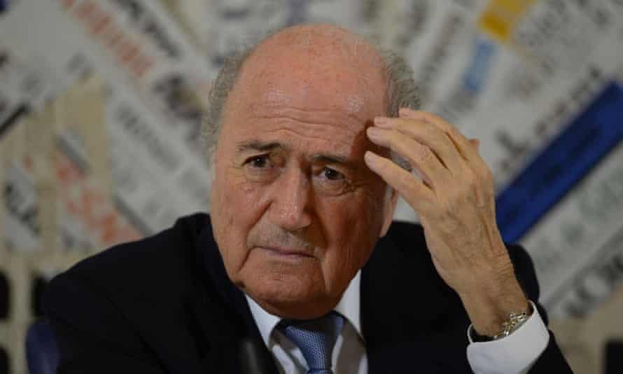Sepp Blatter is under growing pressure to step down.