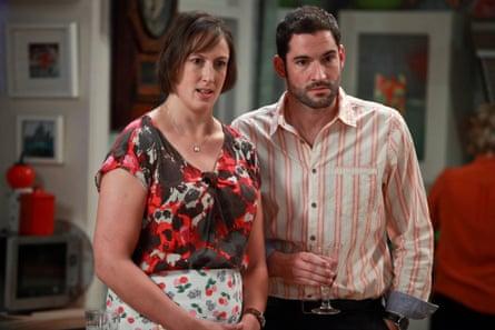 Ellis with Miranda Hart in Miranda.