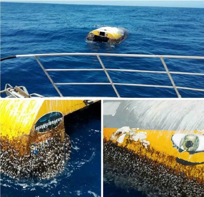 Teen's round-the-world yacht Wild Eyes found floating eight years
