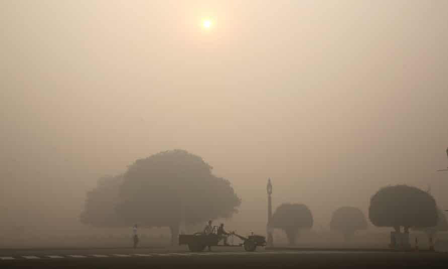 The Greenpeace report found no cities in northern India met international air quality standards, with pollutions rates particularly high in the capital, Delhi.