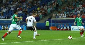 Werner scores Germany's third.
