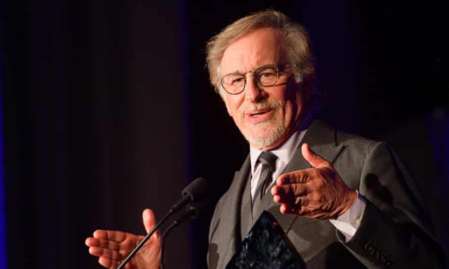 'Movie theatres need to be around for ever' … Steven Spielberg.