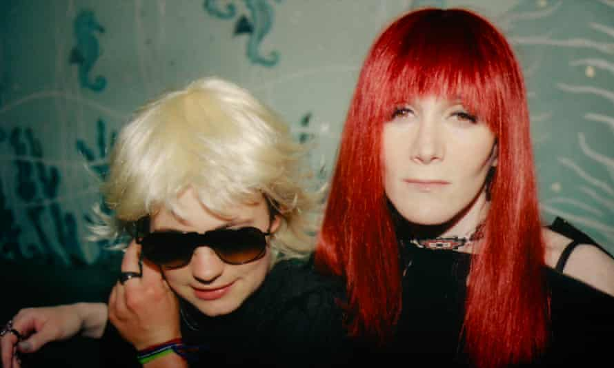 Savannah Knoop at JT LeRoy and Laura Albert, the real author, in The JT LeRoy Story.