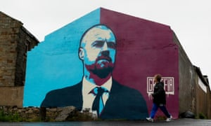 Sean Dyche mural