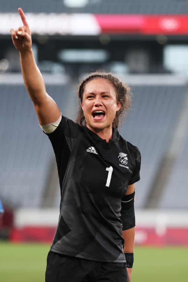 New Zealand's Ruby Tui.