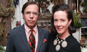 Andy and Kate Spade pictured in 2014.