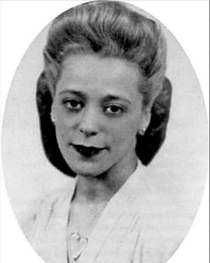 Viola Desmond, an early Canadian civil rights activist.