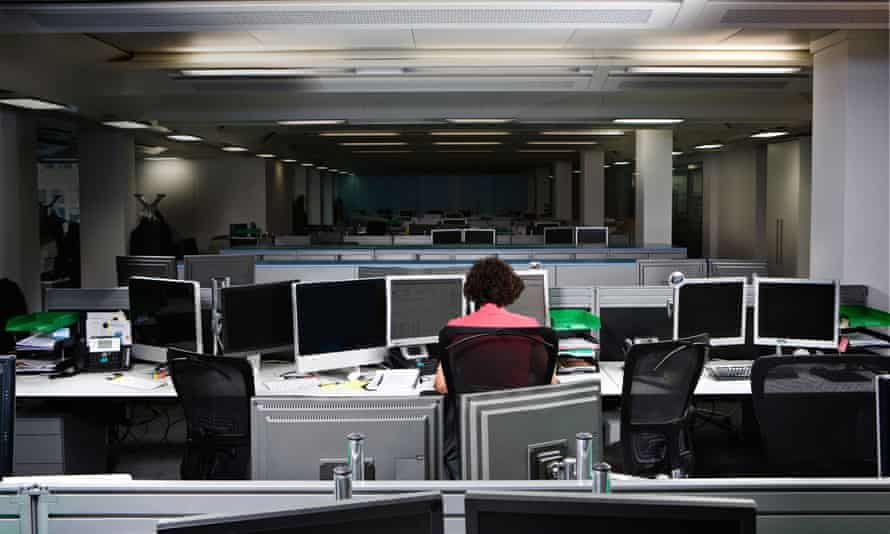 There is no influence on mortality risk from sitting at work,' according to the study of 5,000 people over 16 years.