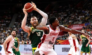 Basketball, Australia v Canada