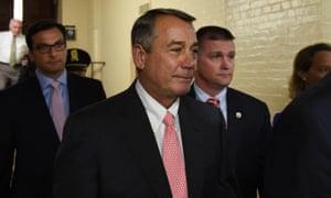 boehner resignation
