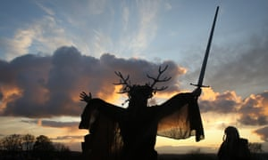 Malevolence and murder … pagan rituals in Martyn Waites's The Old Religion. Photograph: Getty