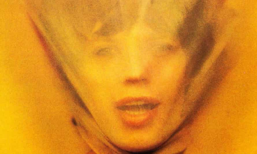 Mick Jagger on the cover of Goats Head Soup.