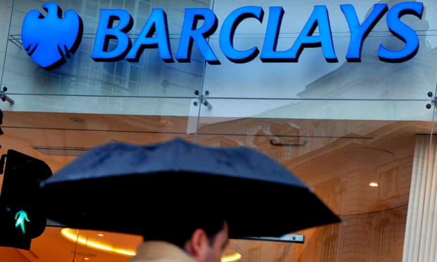 Barclays bank branch in London