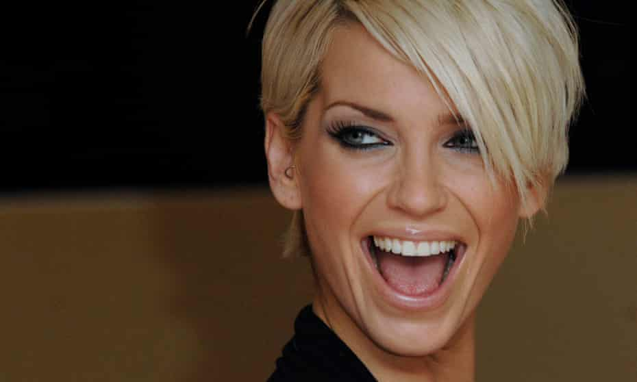 'Harding's energy and passion gave Girls Aloud an extra frisson of excitement onstage' ... Sarah Harding pictured in 2007.