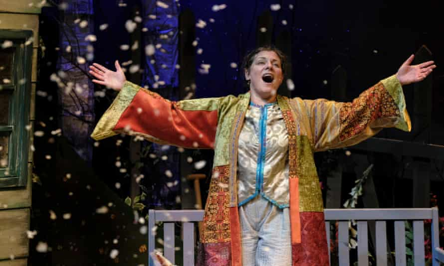 Polly Lister in The Snow Queen.