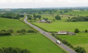 The border between Co Fermanagh in Northern Ireland and Co Monaghan in the Republic of Ireland near the town of Clones.