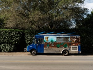 parked food truck