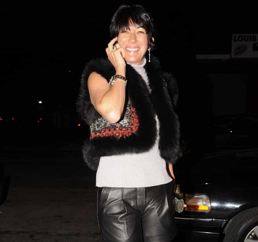 Ghislaine Maxwell in New York in 2010.