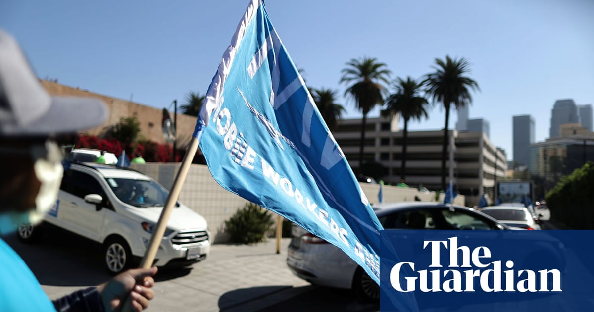 Uber and Lyft drivers to join day-long strike over working conditions