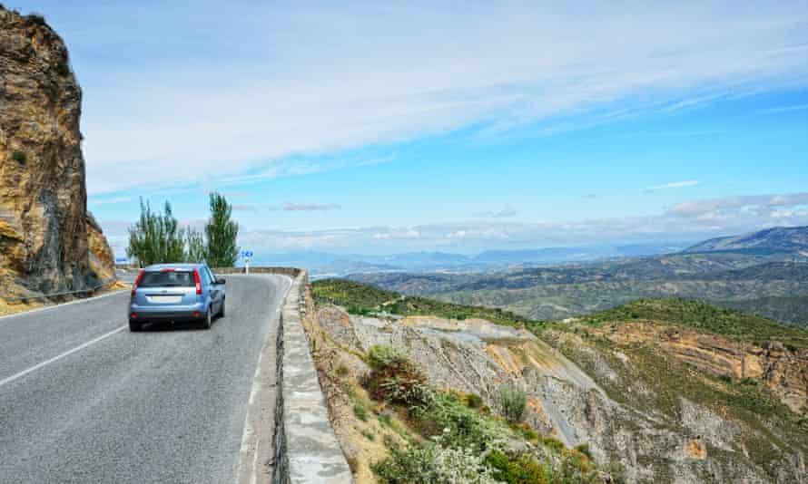 Spanish mountain road