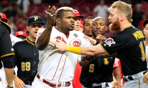 Yasiel Puig is ejected and traded in same inning as Reds and