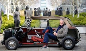Sir James Dyson at his offices in Wiltshire