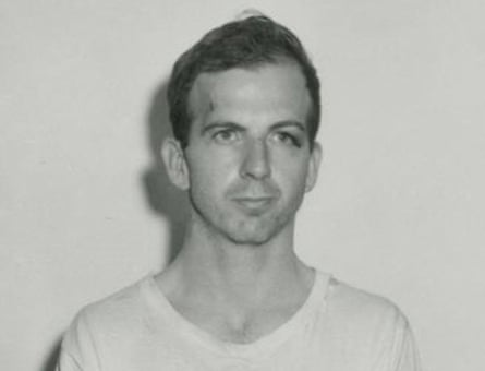 Dallas Police Department photograph of Lee Harvey Oswald.