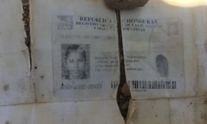 A clue: the ID papers of lost migrant Filadelfo Martinez Gomez are found.