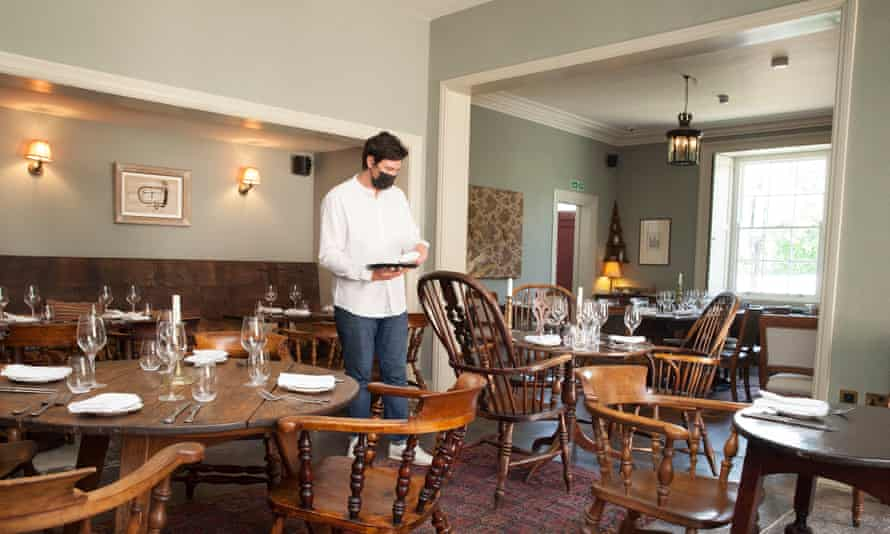 'It is, in short, a glossy relaunch of a country pub': The Bradley Hare.