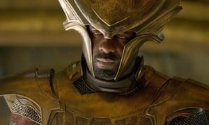 Hammer man ... Idris Elba in Thor: The Dark World