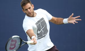 Juan Martin del Potro has had wrist and knee injuries since winning the US Open in 2009.