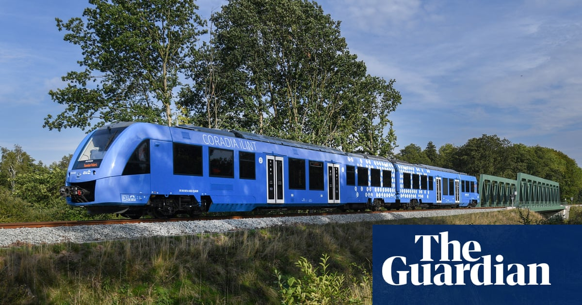Germany launches world's first hydrogen-powered train | Environment