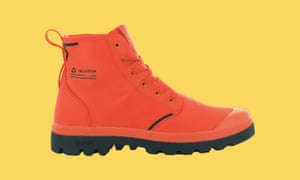 Pampa Lite + recycled WP boots in firecracker