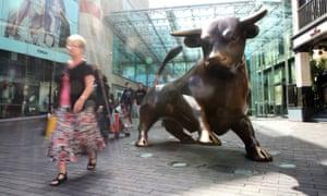 Hammerson's Bullring shopping centre in Birmingham.