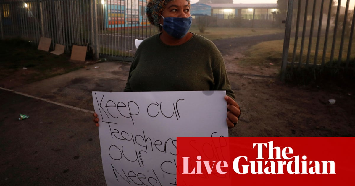 Coronavirus news live: South Africa reverses decision to open schools; sharp rise in Iran's infection rate