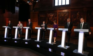 The leaders in scotland battled it out in a BBC debate.
