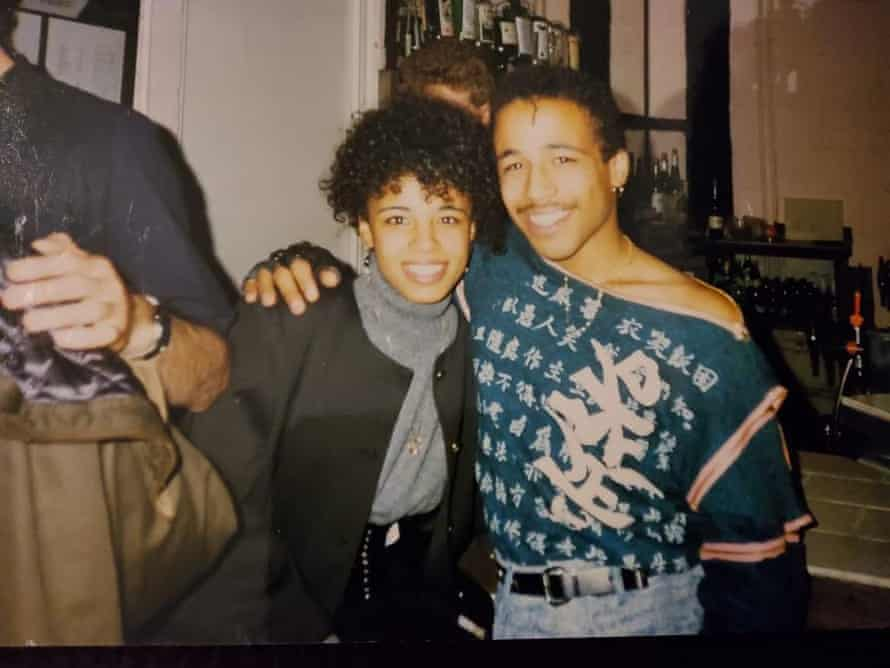 Colin and Caz, late 80s