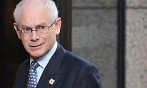 Former European council President Herman Van Rompuy said a no-deal Brexit was 'an existential threat to the UK'.