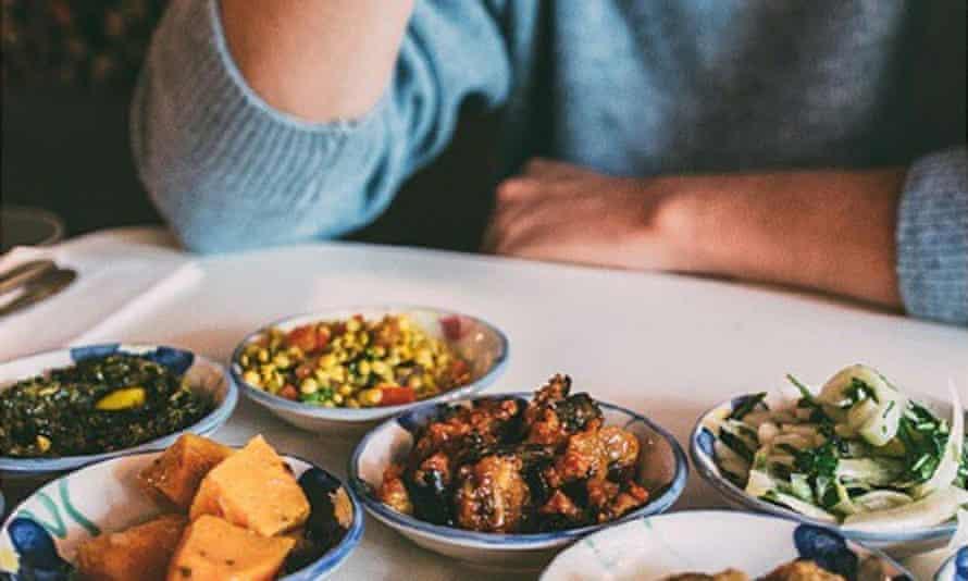 Moroccan mezzes at Kif Kif Café in Brussels