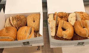 On Twitter, Alek Krautmann said the sliced bagels were a 'St Louis secret'.