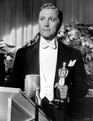 Kirk Douglas in The Bad and the Beautiful, 1952.